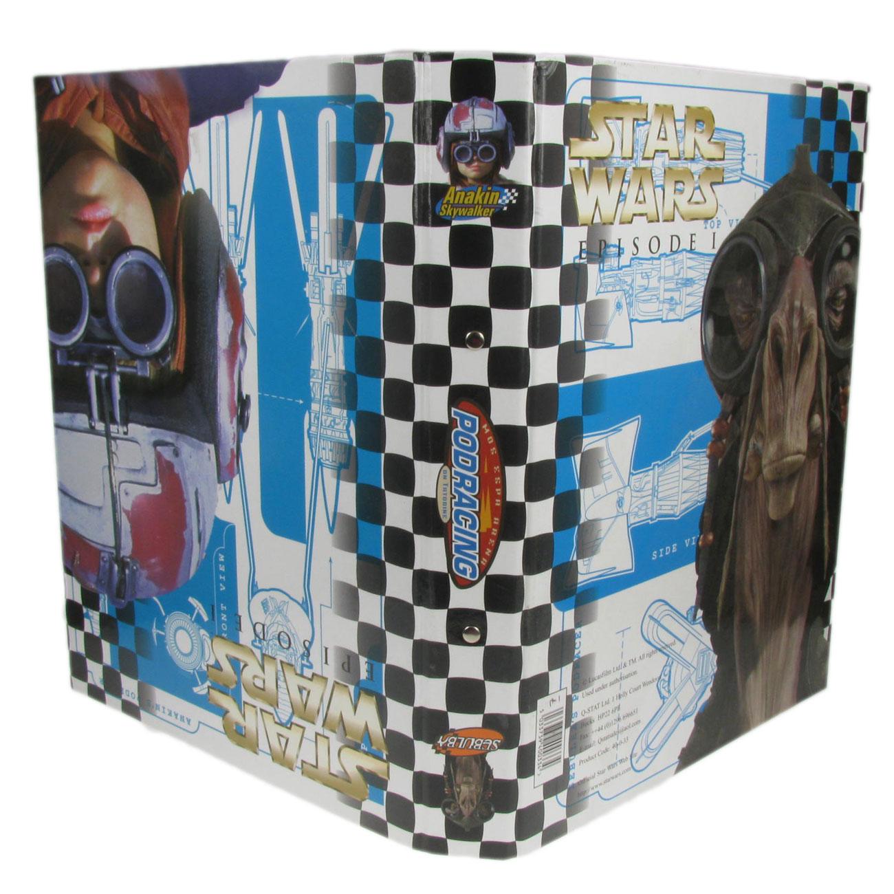 School Folder Ring Binder File Star Wars A4 Anakin/Sebulba