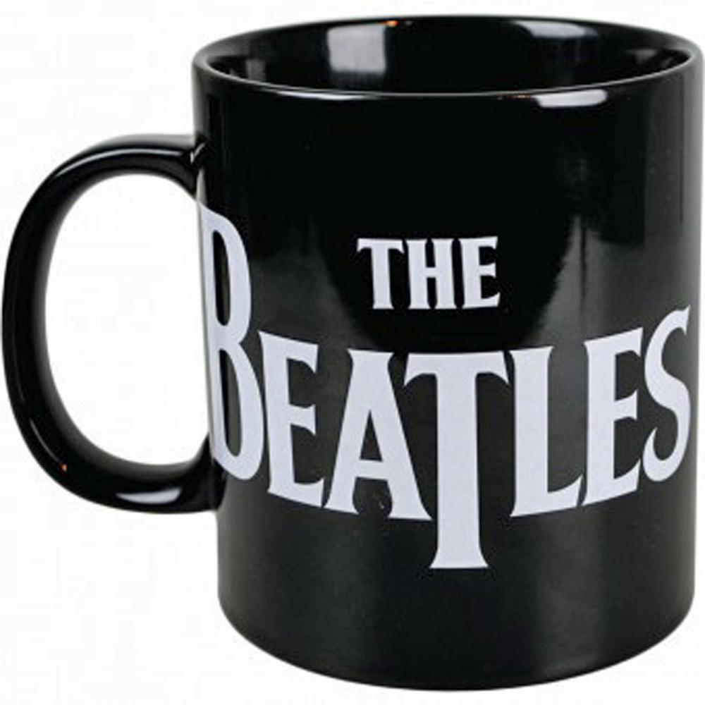 the beatles giant ceramic large coffee mug boxed retro novelty huge jumbo cup mug black. Black Bedroom Furniture Sets. Home Design Ideas