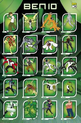Ben 10 - Compilation - Maxi Poster - 61 cm x 91.5 cm (151) Preview