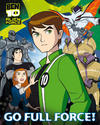 View Item Ben 10 Poster Alien Force Full Mini Wall Art Decor Boys 40cm x 50cm(794)