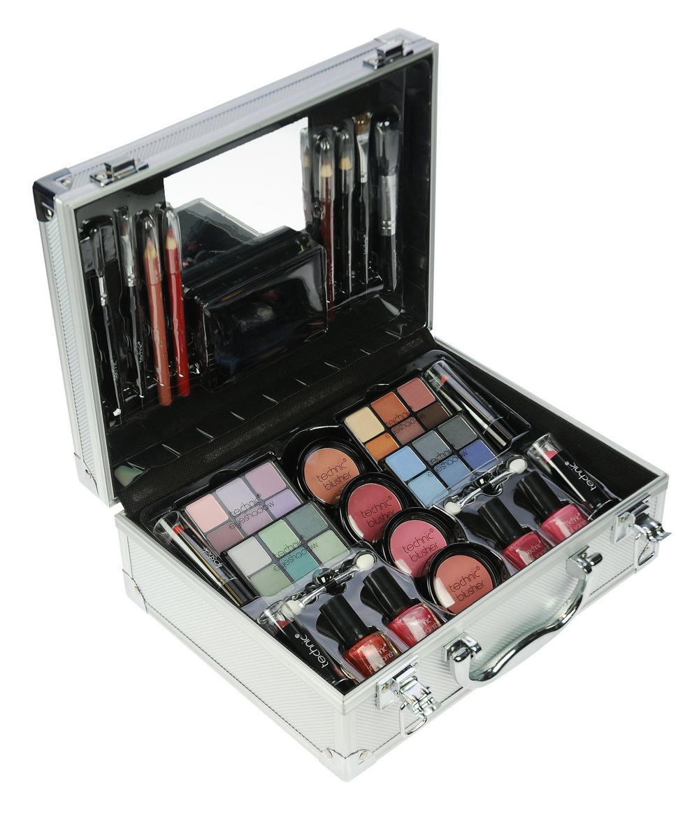 Technic make up large cosmetics beauty box case gift set for Perfect scale pro review