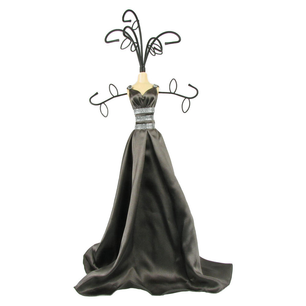 Mannequin Jewellery Stand Tree Necklace Holder Lady In