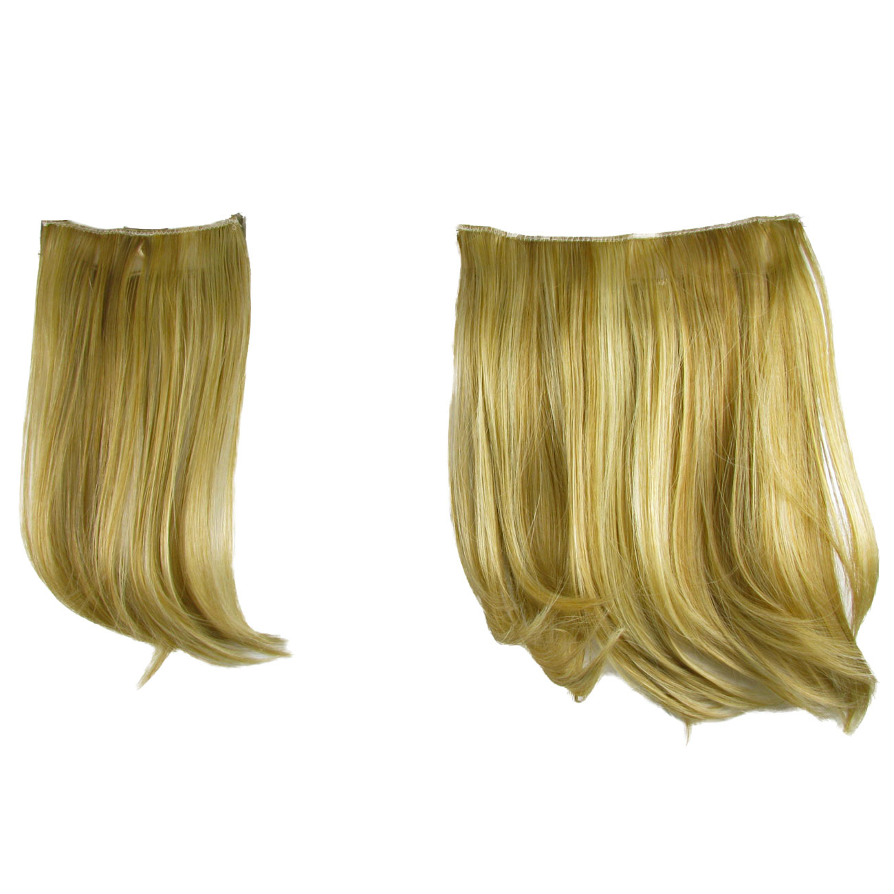 Hair Extensions Clip In 2 Piece Ken Paves Hairdo Ginger Blonde