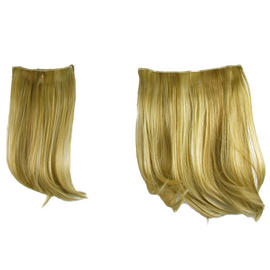 "Hair Extensions Clip In 2 Piece Ken Paves Hairdo Ginger Blonde Fashion 16"" Preview"