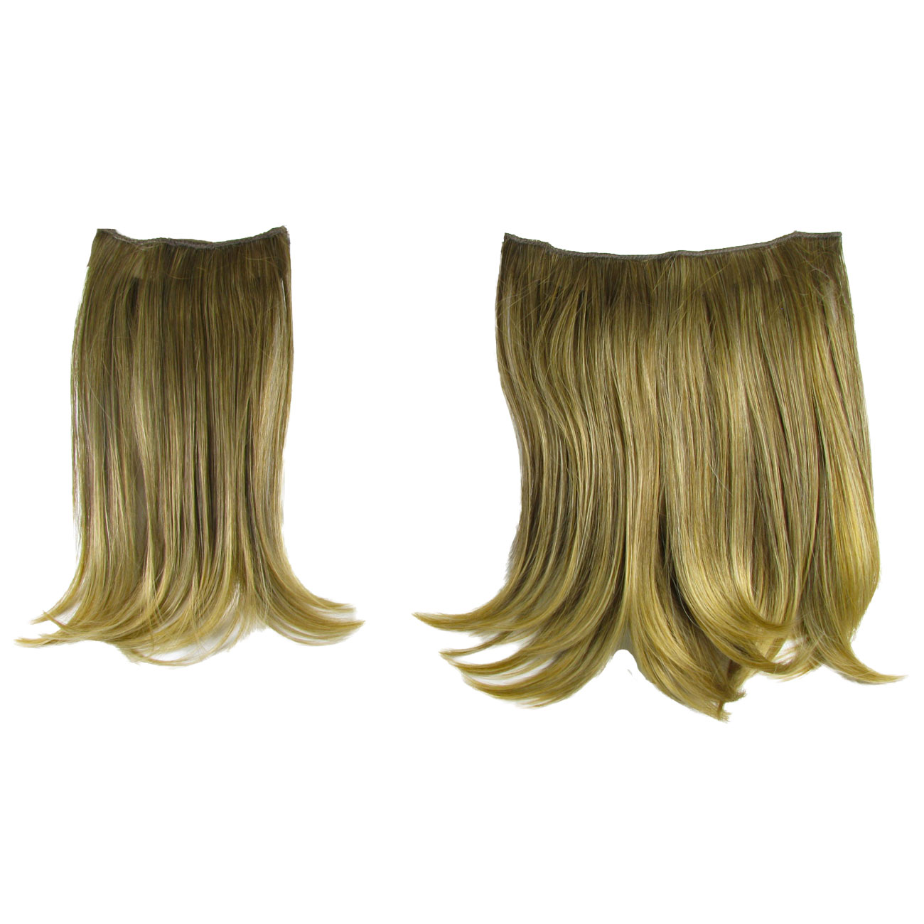 Hair Extensions Clip In 2 Piece Ken Paves Hairdo Dark Blonde Fashion