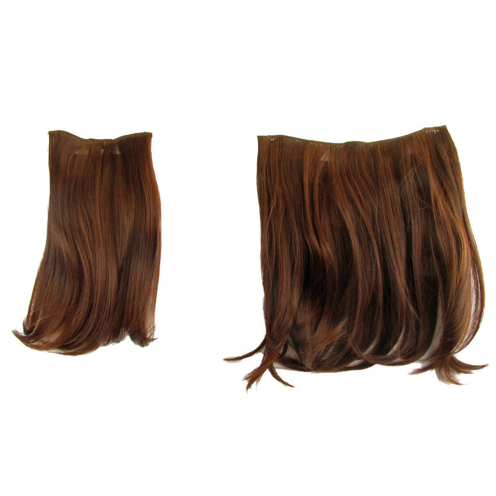 Ken Paves Hairdo 2 Two Piece Clip In Hair Extensions Dark Copper 16