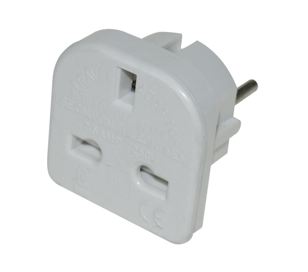 Adapter Plug Boyz Toyz Travel Charging Uk Eu Europe
