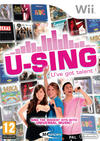 "View Item Official For Nintendo Wii U-sing U""ve Got Talent! Game ONLY"