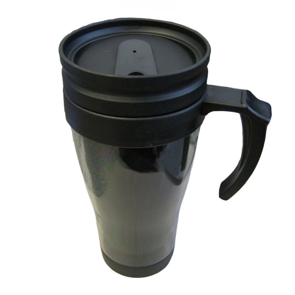 1x Plastic Insulated Durable Thermal Hot Amp Cold Travel Mug