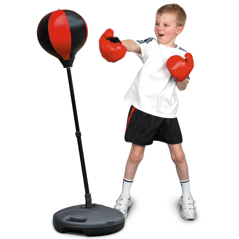 Boxing Kit Training Junior Kids Children Toys Punch Ball ...