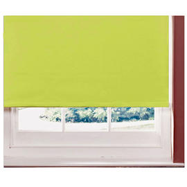 Blackout Blinds Roller Thermal Easy Fit 120cm Window Quality Colour Kiwi Green Preview