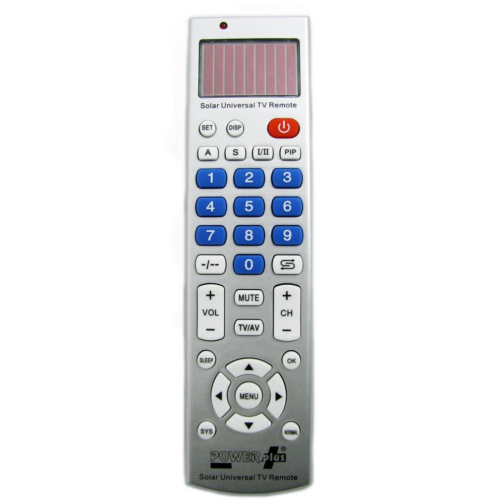 Universal Remote Control Tv Powerplus Leopard Solar