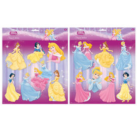 Disney Princess Wall Stickers Girls Art Bedroom Decorations Adhesive Decor 7pcs Preview
