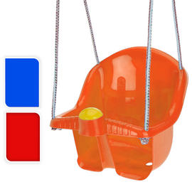 Childrens Plastic Swing Seat With Rope And Hook Outdoor Garden Preview