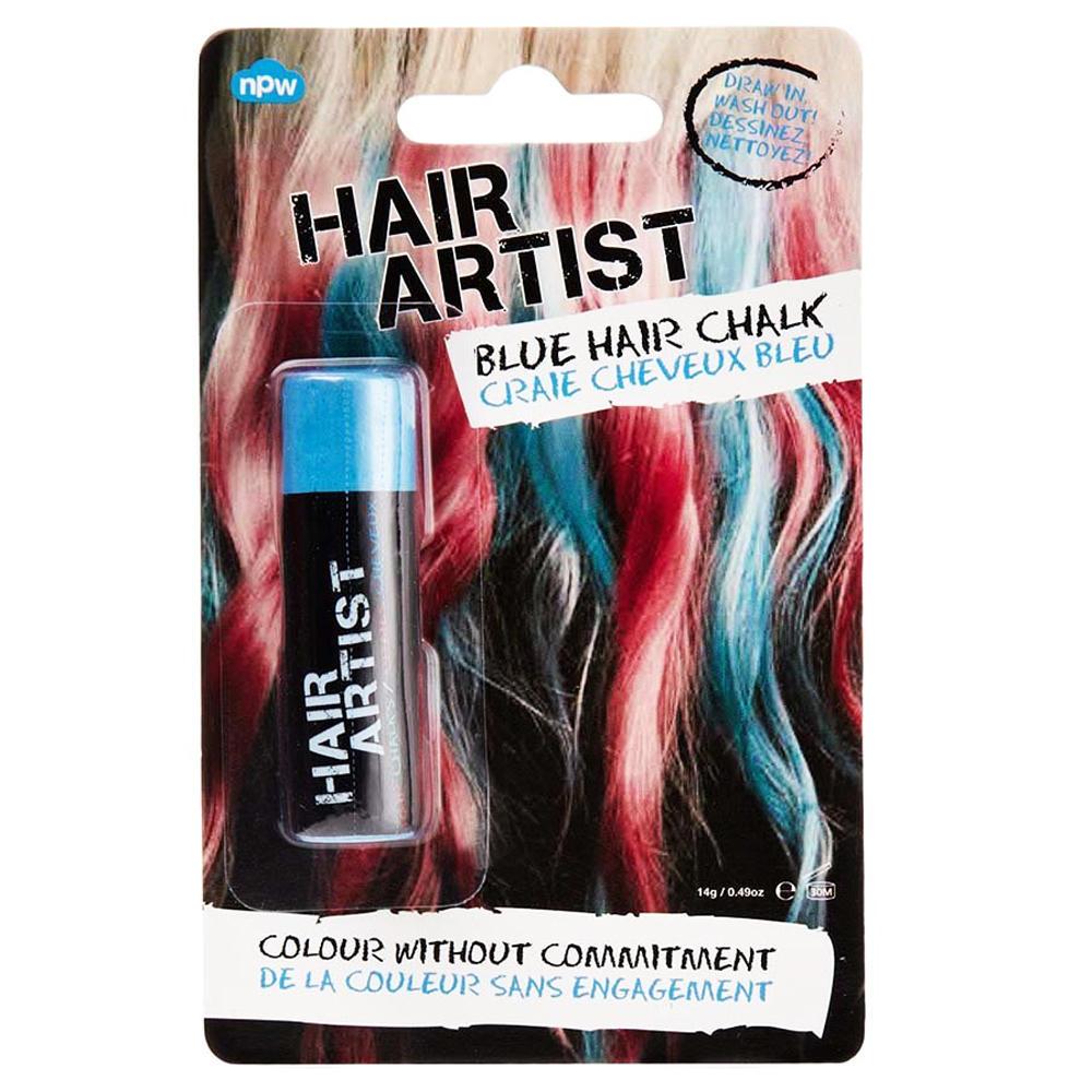 Hair Artist Temporary Dye Draw In Wash Out Hair Chalk Pastels - Blue Hair  Colourants, - Blue | Urban Trading