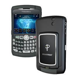 Powermat Phone Charger Blackberry Curve Wireless Portable Receiver Travel Energy Preview