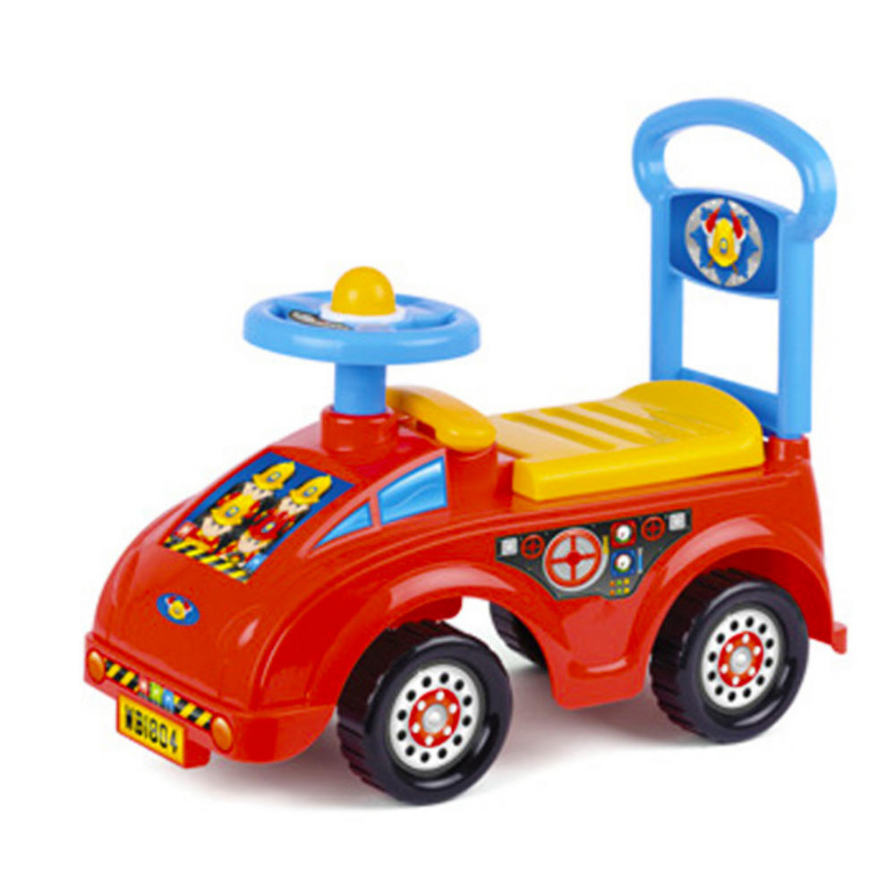Ride On Toy Kids Car Children Push Along Outdoor Fire