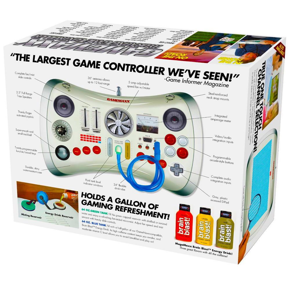 Novelty Prank Gift Box Gamemaxx Controller Birthday Christmas Fun ...