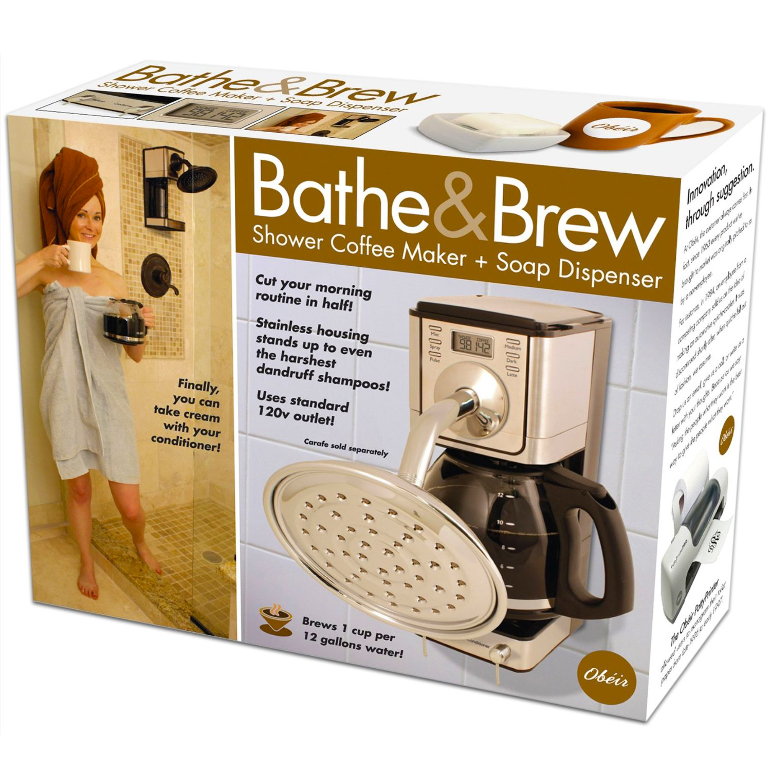 Novelty Bathe And Brew Fun Birthday Party Christmas Gag Prank Gift ...