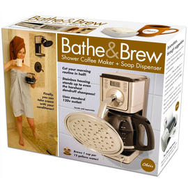 Novelty Bathe And Brew Fun Birthday Party Christmas Gag Prank Gift Box Preview