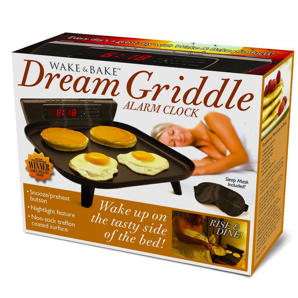 Novelty Wake And Bake Dream Griddle Fun Birthday Christmas ...