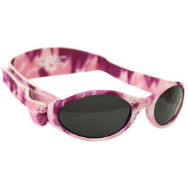 Childs Sunglasses Kidz Banz Adjustable Camo Pink Diva Girls Adventure Strap Preview