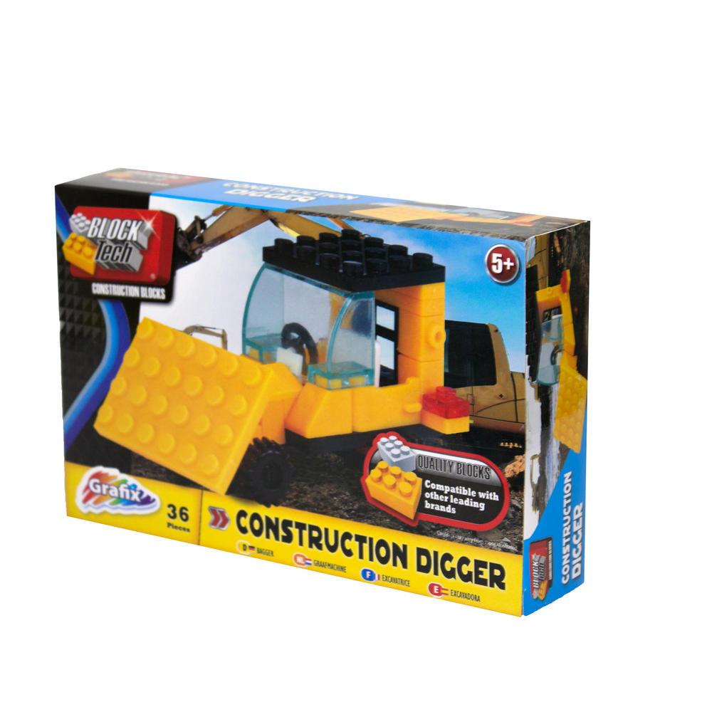Blocktech Building Bricks Kids Toy Set Brand Compatible ...