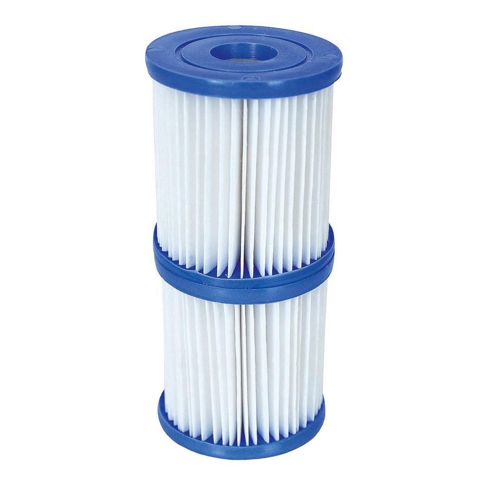 Pool Filter Cartridge Swimming Cleaner Water Bestway Twin Pack Fits 3 1 X 3 5 Swimming Pools