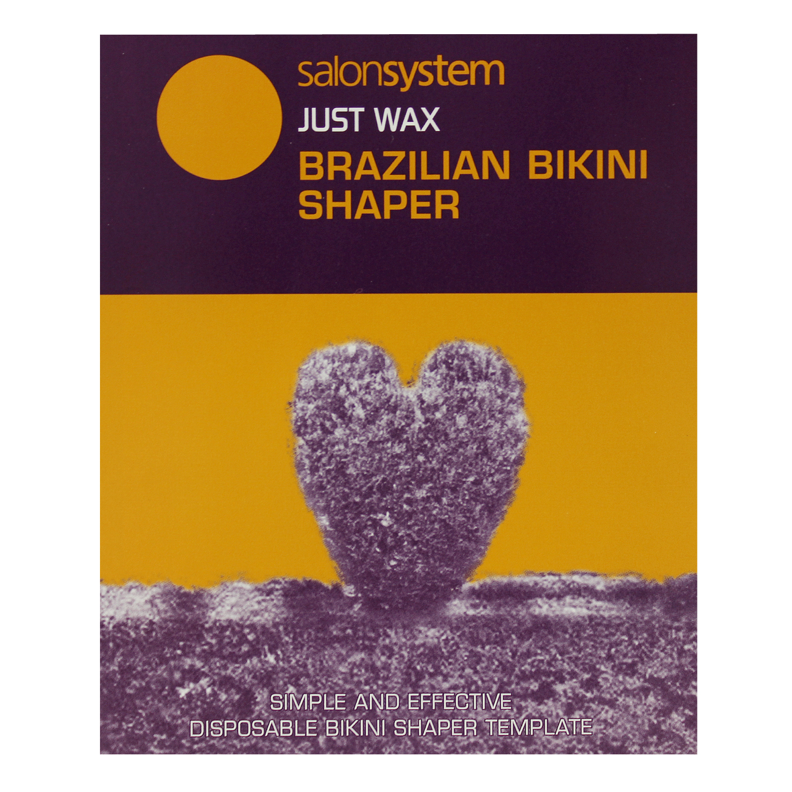 Bikini Wax Brazilian Waxing Template Hair Removal Body Salon System ...