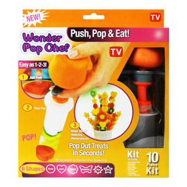 Wonder Pop Chef Fruit Good Cutter Party Shapes Decorator Maker As Seen on TV Preview