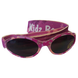 Kidz Banz Sunglasses Kids Girls Shades Adjustable Strap Pink Diva Camo 2-5yrs Preview