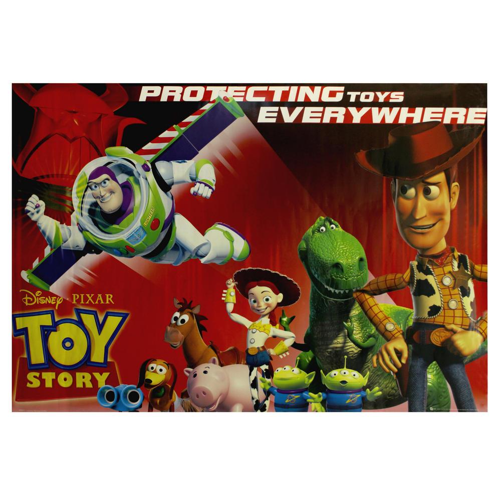 Toy Story 3 Toys : Toy story disney pixar protecting toys everywhere poster