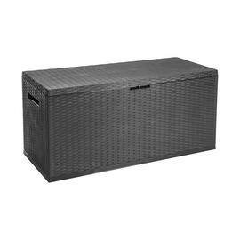 Outdoor Garden Storage Box Platic Chest Utility Shed Patio Lid Nizza