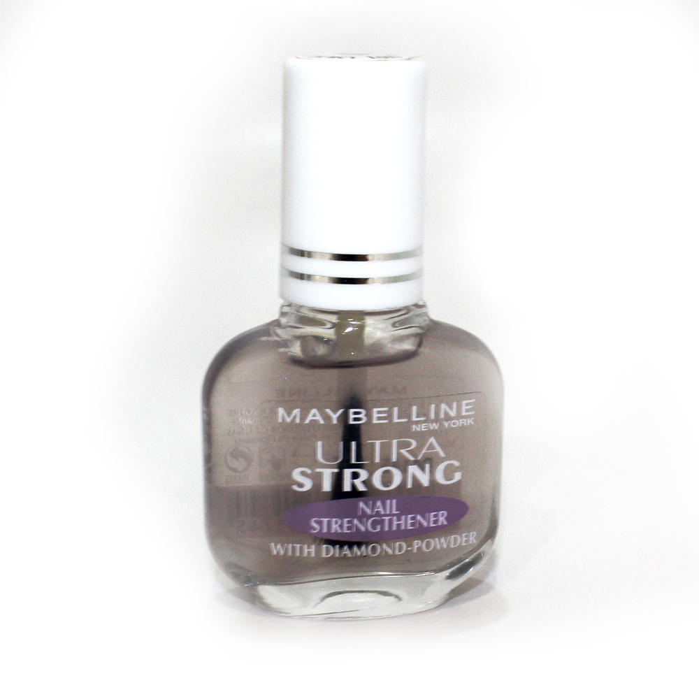 Pro Strong Nail Strengthener: Maybelline Strong Nail Strengthener With Diamond Powder