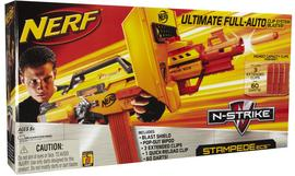 Nerf Gun Toy Dart Stampede ECS Rapid Blaster Bullet Refill Yellow Fire Preview