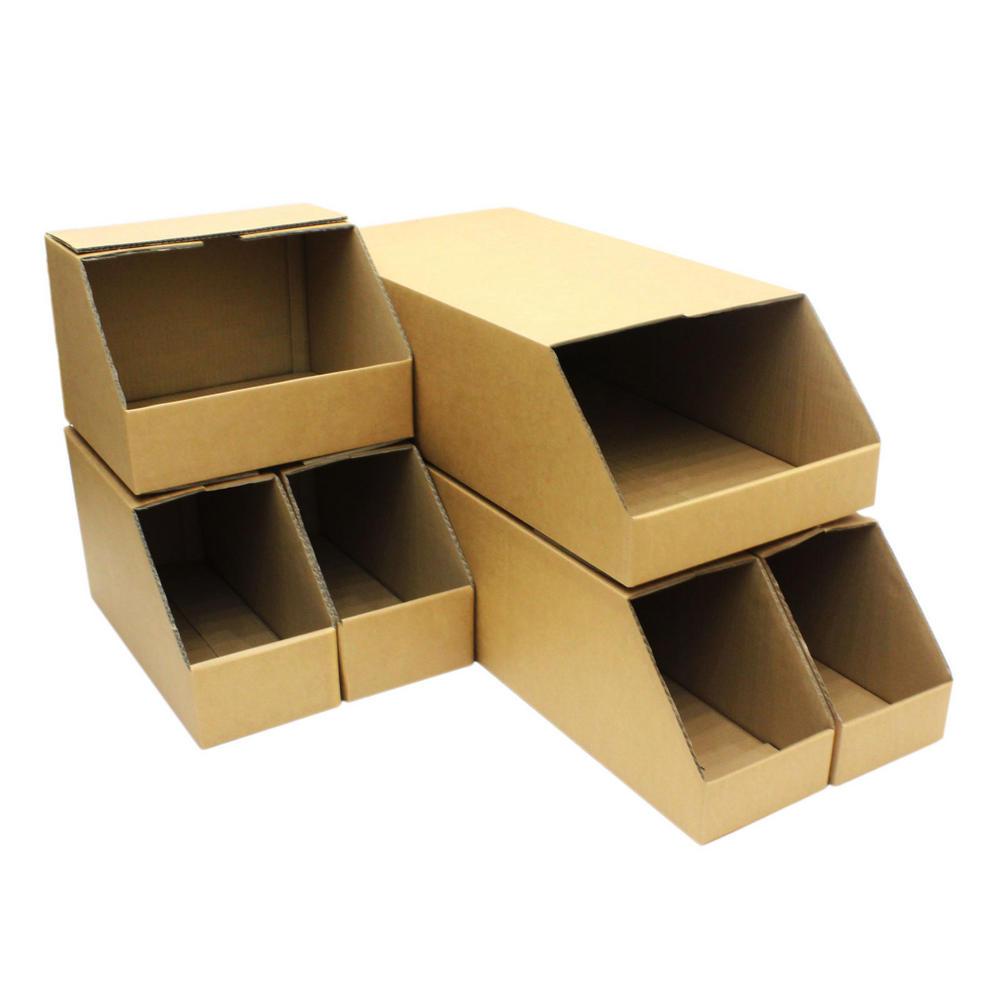 Wholesale Car Parts >> Storage Bins Stackable Heavy Duty Picking Cardboard Pick Shelf Rack Warehouse Garage Parts Bin ...