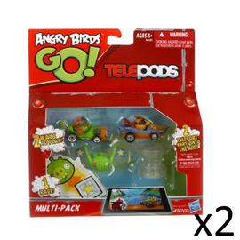 Angry Birds Telepods Official Go Kart Multi Pack Figures Car Set Tablet Game x2 Preview