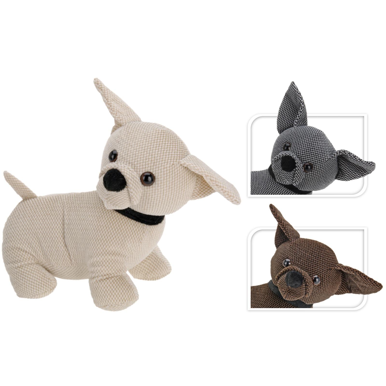 Dog Door Stop Novelty Doorstop Animal Stopper Weighted Fabric Puppy Gift 30cm Ebay
