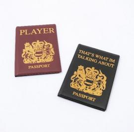 Passport Covers Holder Boyz Toyz Novelty Joke Gift Stag Party Set of Two Preview