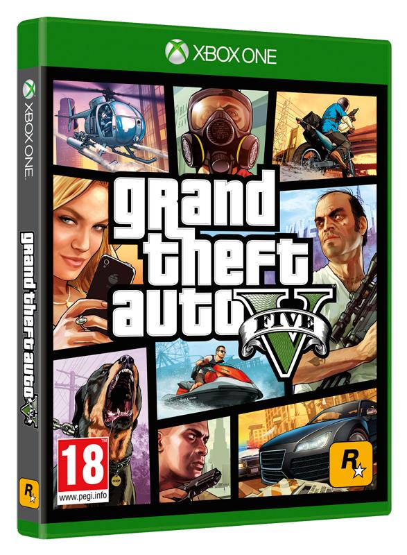 Gta 5 Xbox One : Grand theft auto xbox one  ebay