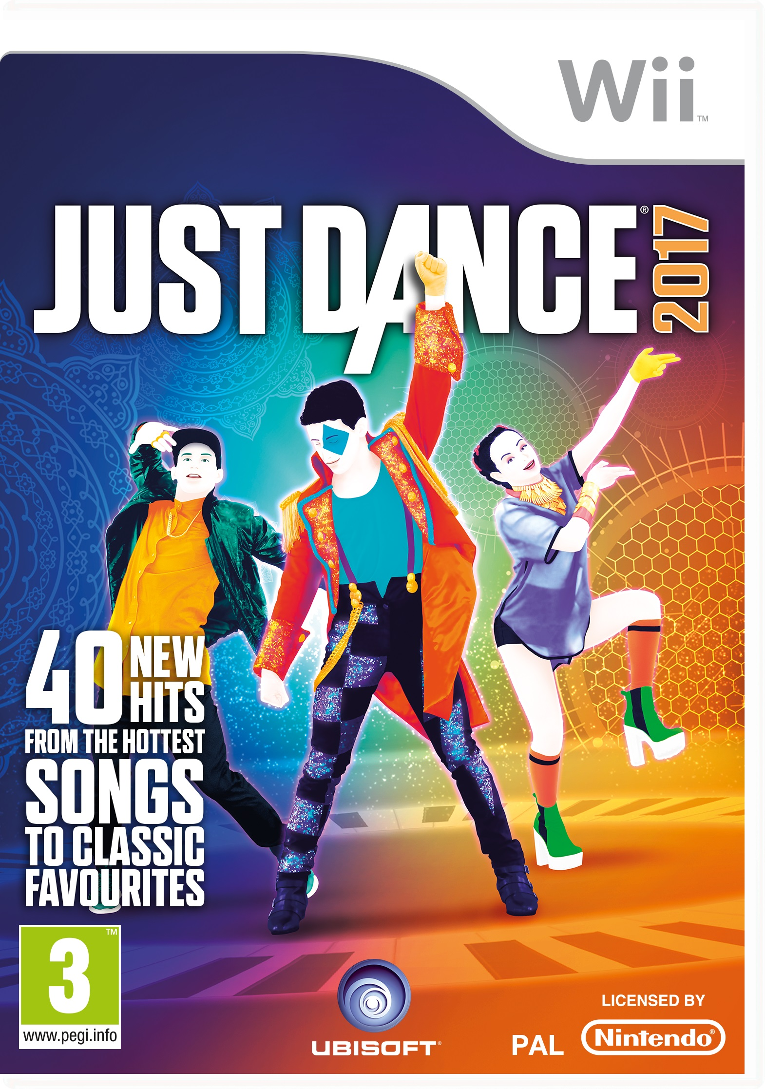 Just For Fun Drawings Education: Just Dance 2017 WII