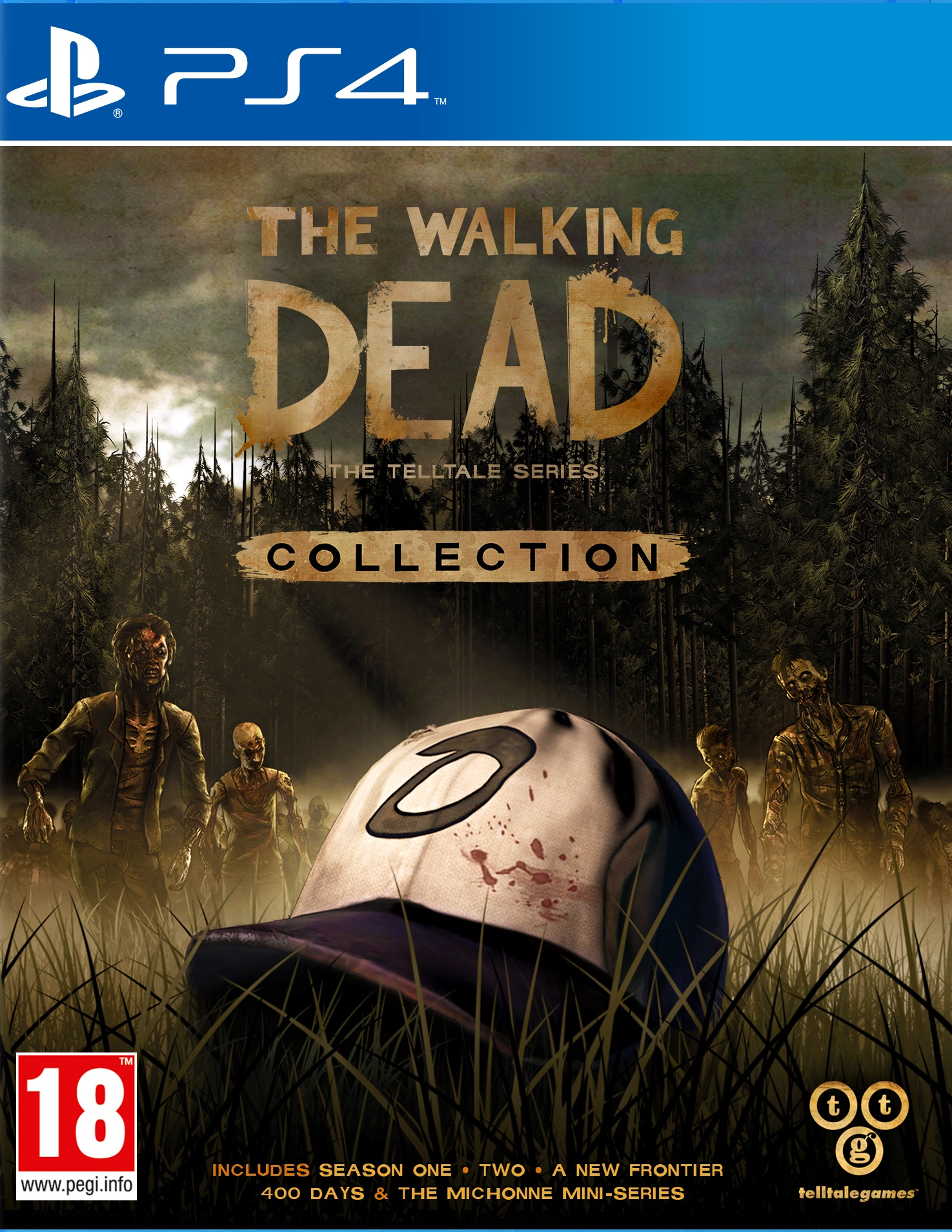 the walking dead telltale series collection ps4. Black Bedroom Furniture Sets. Home Design Ideas