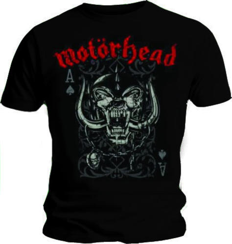72e81c7f Official T Shirt MOTORHEAD Overkill PLAYING CARD Logo Vintage All ...