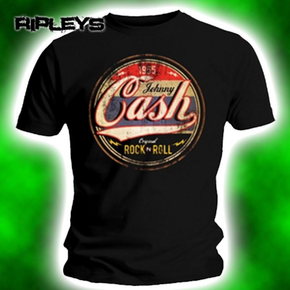 3255966ab OFFICIAL T Shirt JOHNNY CASH Original Rock n Roll Vintage S