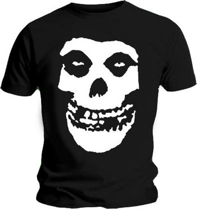 Official T Shirt MISFITS CRIMSON Huge Skull BACK PRINT All Sizes