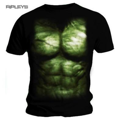 Official T Shirt THE AVENGERS The Hulk CHEST PRINT MARVEL Costume SMALL