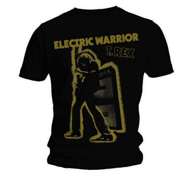 Official T Shirt T REX Black ELECTRIC WARRIOR Vintage All Sizes