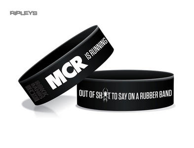 Official MY CHEMICAL ROMANCE Silicone Wristband LOGO Black Gift Preview