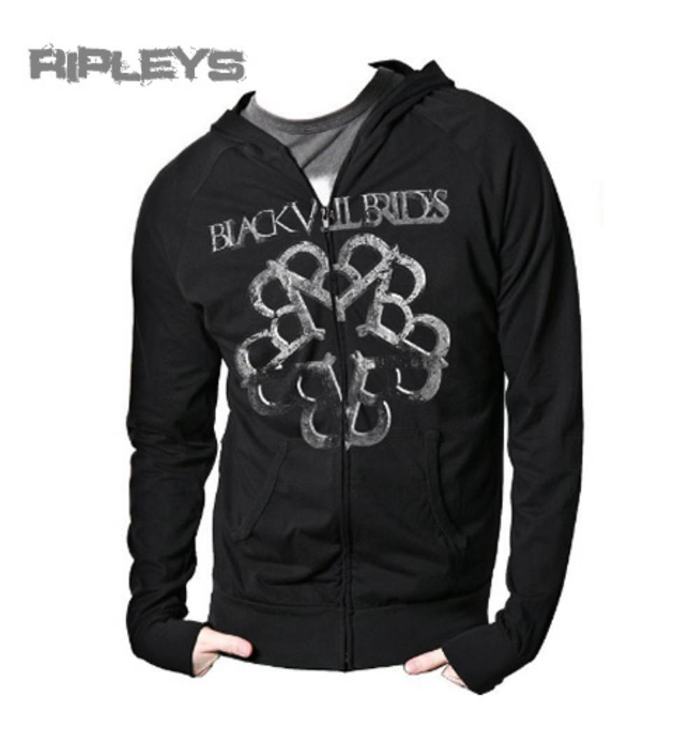 Roses Official Black Veil Brides Men/'s Black Pullover Hoodie