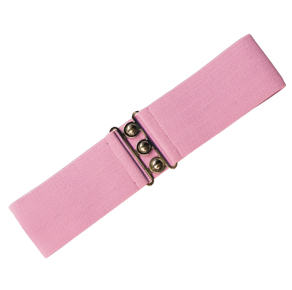 HELL-BUNNY-Retro-50s-Waist-BELT-Rockabilly-Elasticated-Dolly-Pink-All-Sizes thumbnail 3